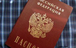 серия и номер паспорта по фио