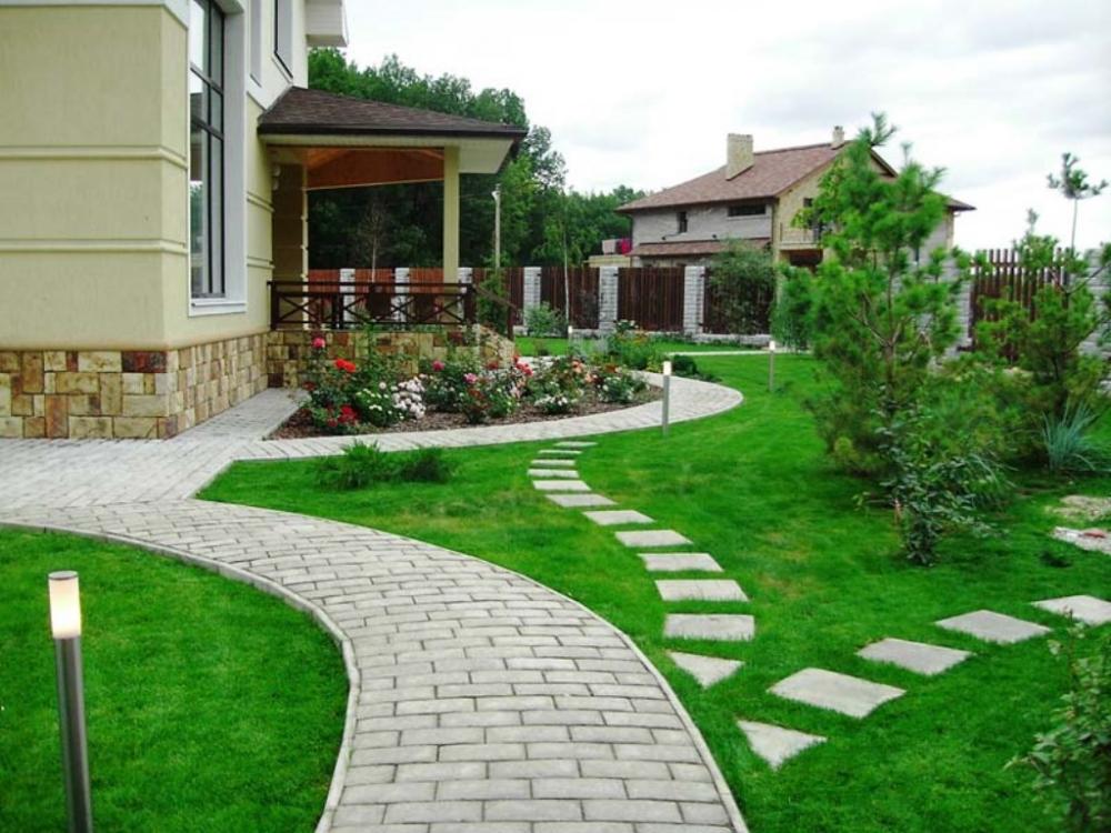 благоустройство придомовой территории частного дома