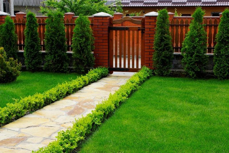 благоустройство территории частного дома (главный ключ)