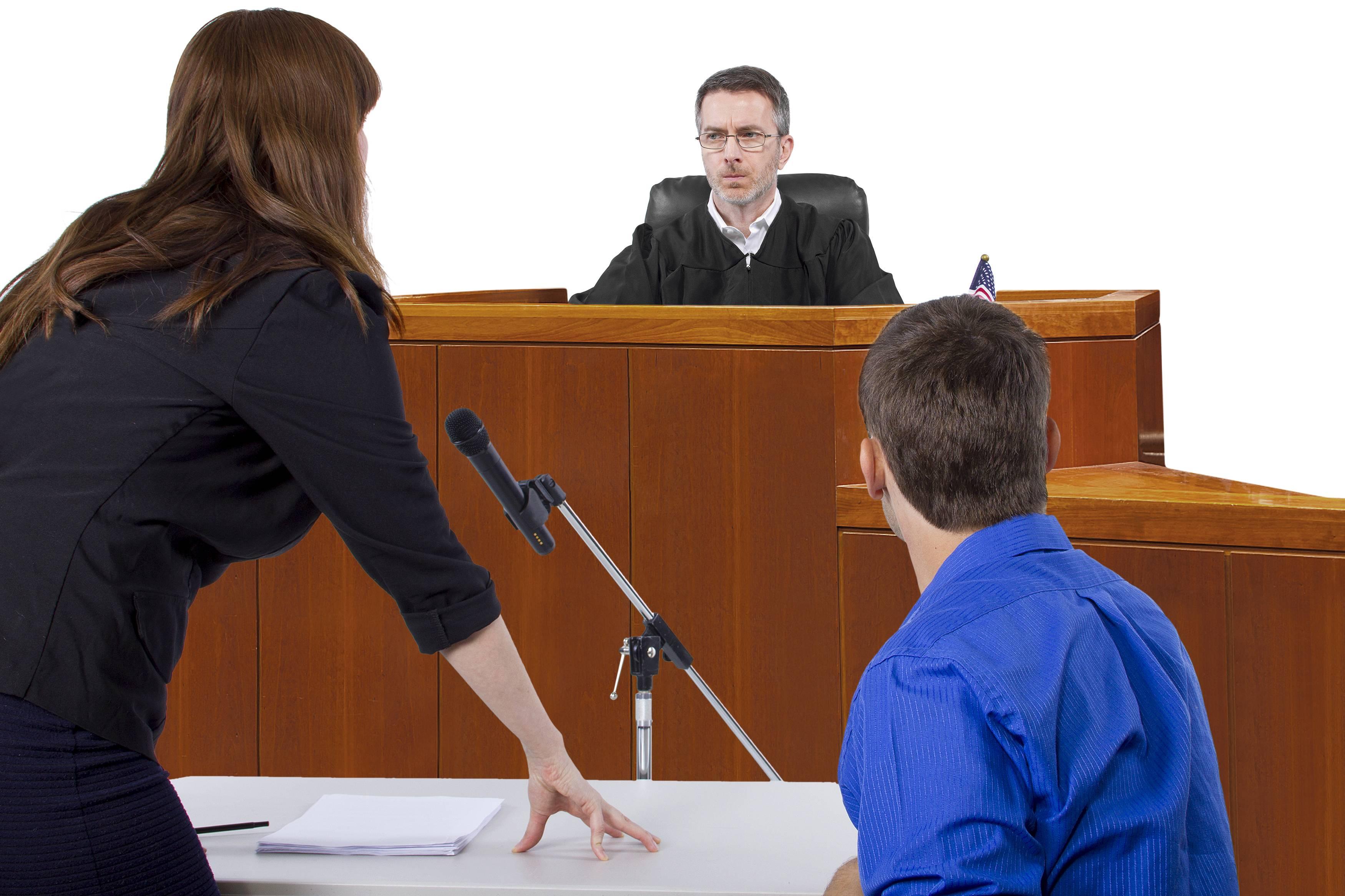 Представитель прав в суде,