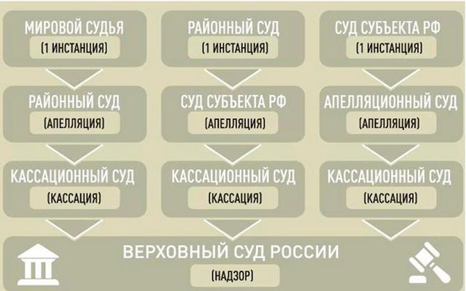 Судебная структура